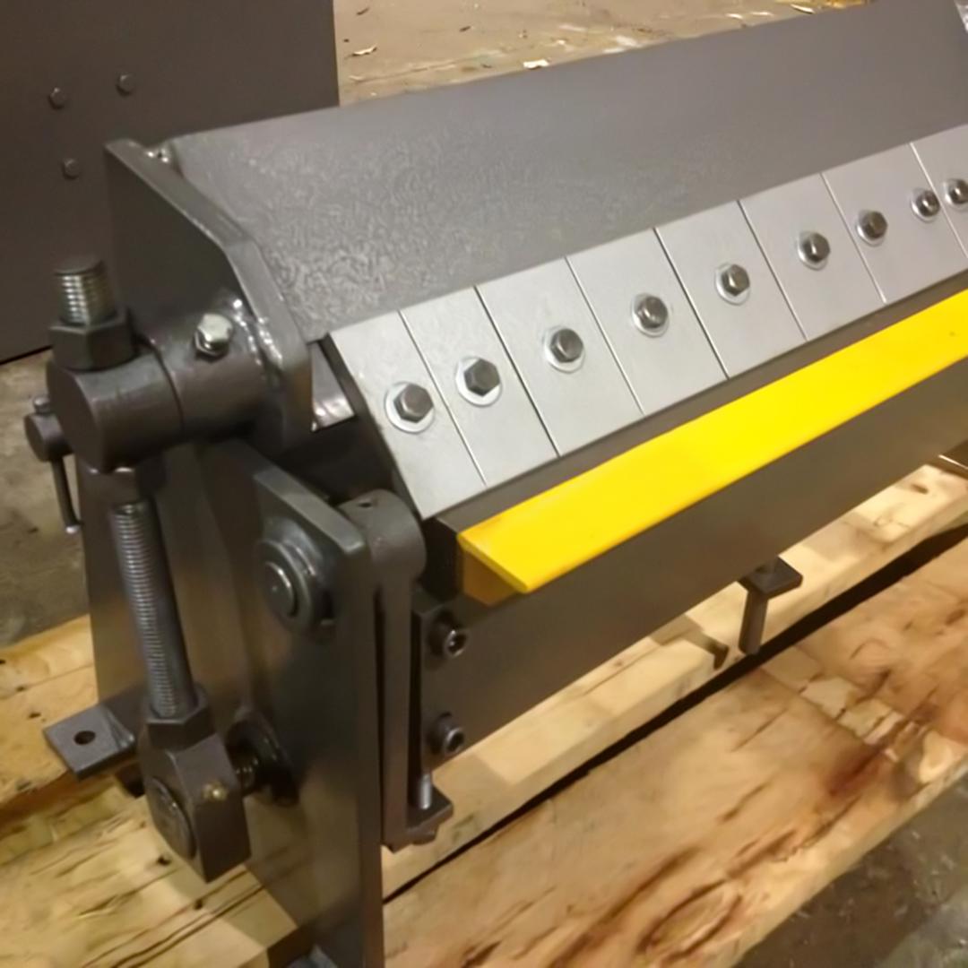 Kpb 600 Pan Brake Folder 600mm Length X 1 2mm Thick
